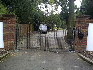 Metal Automatic Gate